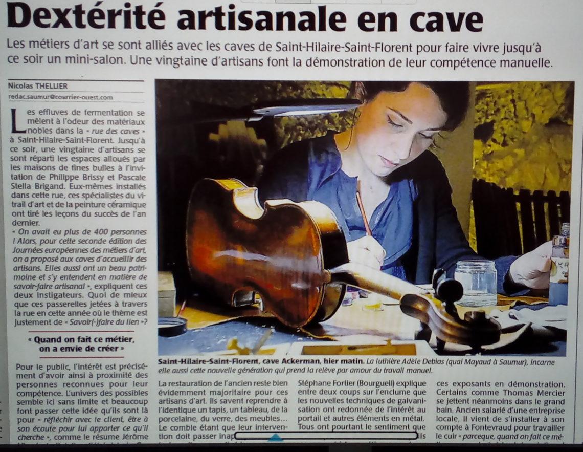 Dextérité artisanale en cave